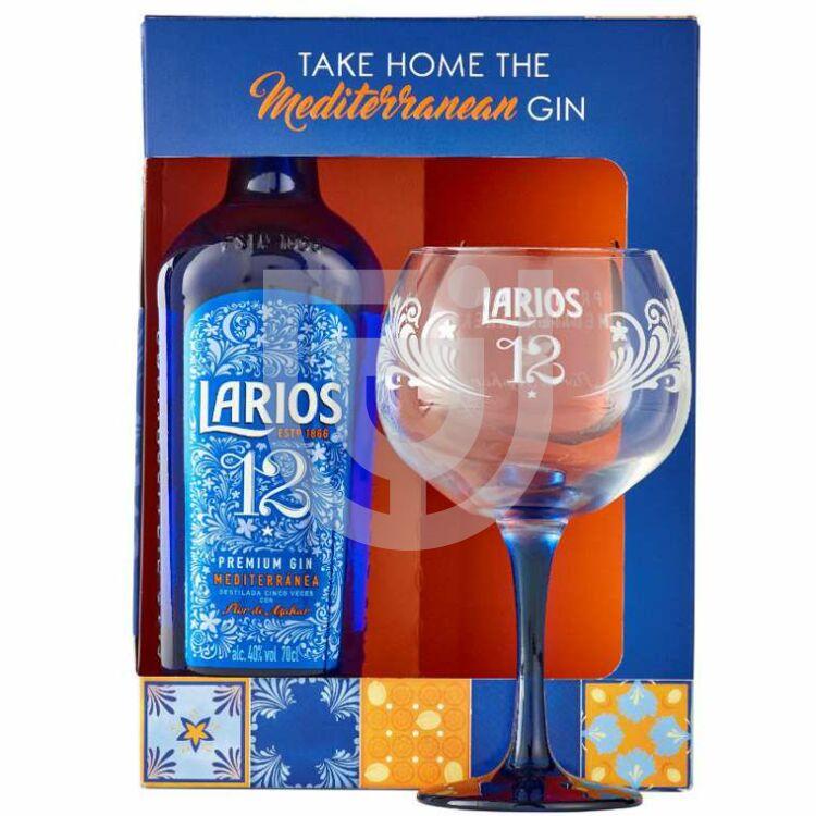 Larios 12 Gin (DD+Pohár) [0,7L 40%]