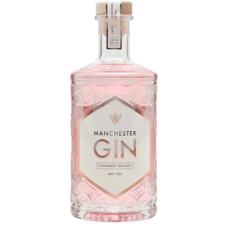Manchester Raspberry Infused Gin Magnum [4,5L|40%]