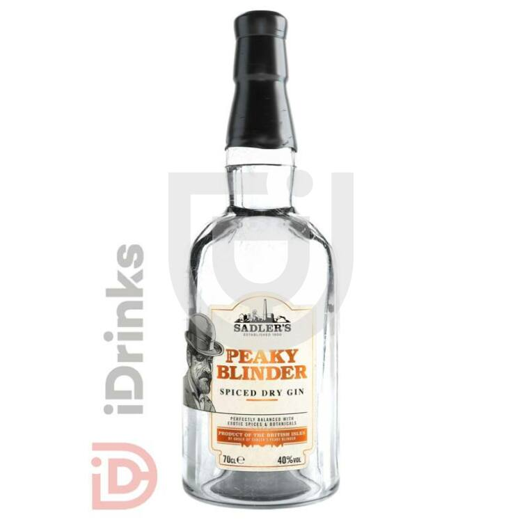 Peaky Blinders Spiced Gin [0,7L|40%]