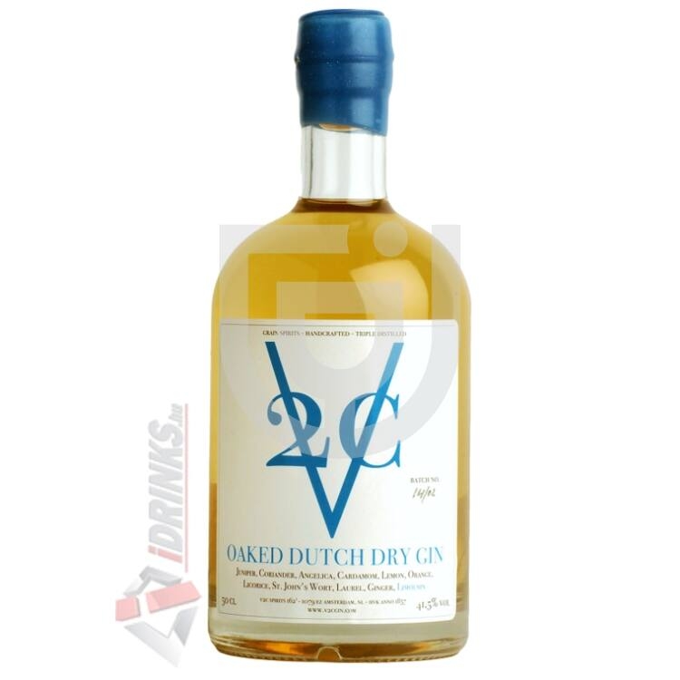 V2C Oaked Dutch Dry Gin [0,5L|41,5%]