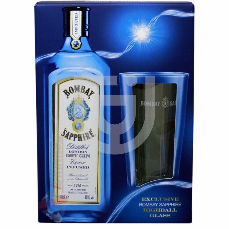 Bombay Sapphire (PDD+Pohár) [0,7L|40%]
