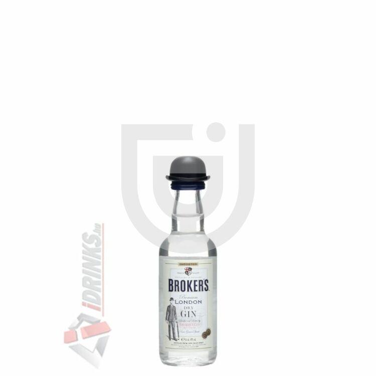 Brokers Gin Mini [0,05L|47%]