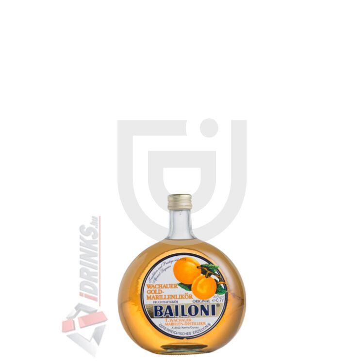 Bailoni Sárgabarack Likőr Mini [0,02L|30%]