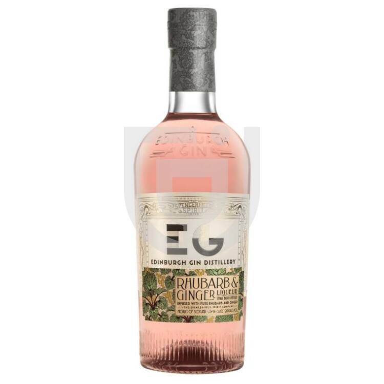 Edinburgh Rhubarb & Ginger Likőr [0,5L 20%]