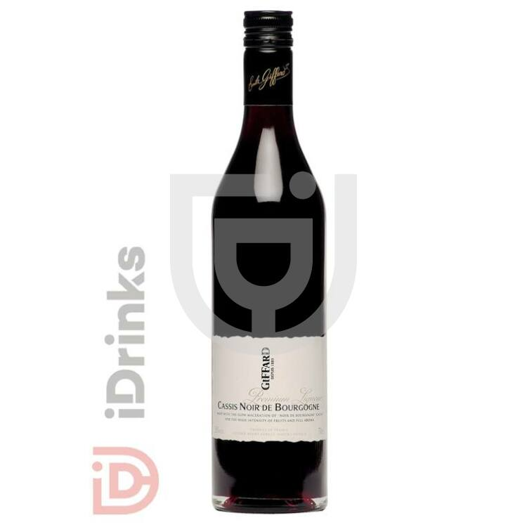 Giffard CassisNoir de Bourgogne Likőr [0,7L|20%]