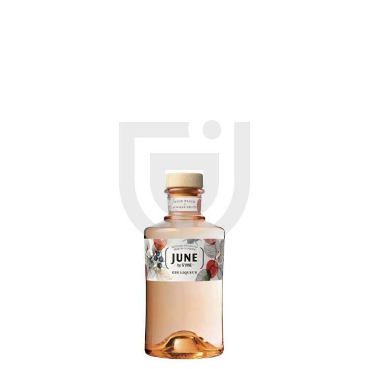 June by G'Vine Wild Peach Gin Likőr Mini [0,05L 30%]