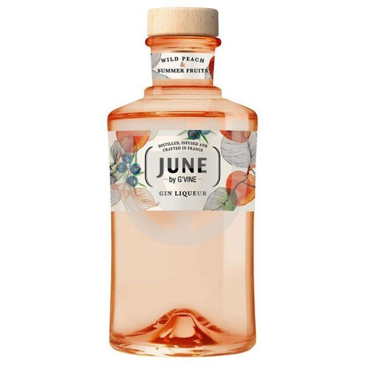 June by G'Vine Wild Peach Gin Likőr [0,7L 30%]
