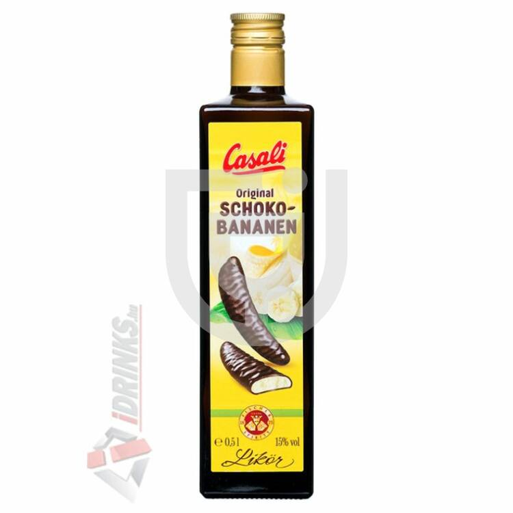 Casali Schoko Bananen Likőr [0,5L|15%]
