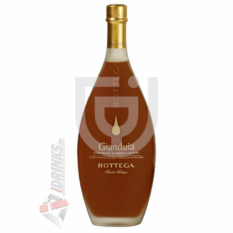 Bottega Crema Gianduia Paestum Likőr [0,5L 17%]
