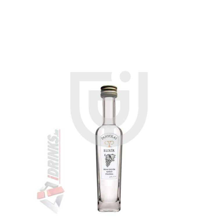 Panyolai Elixír Irsai Olivér Szőlőpálinka Mini [0,05L|43%]