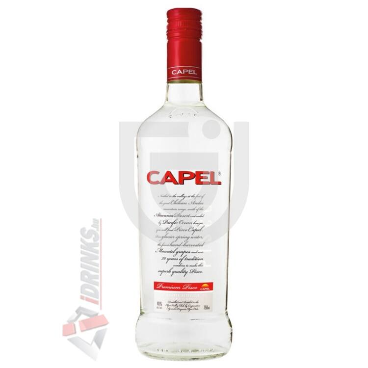 Pisco Capel Double Distilled [0,7L|40%]