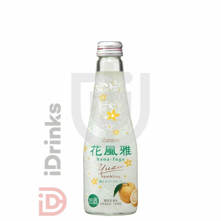 Ozeki Hana Fuga Yuzu Sparkling Sake [0,25L 7%]