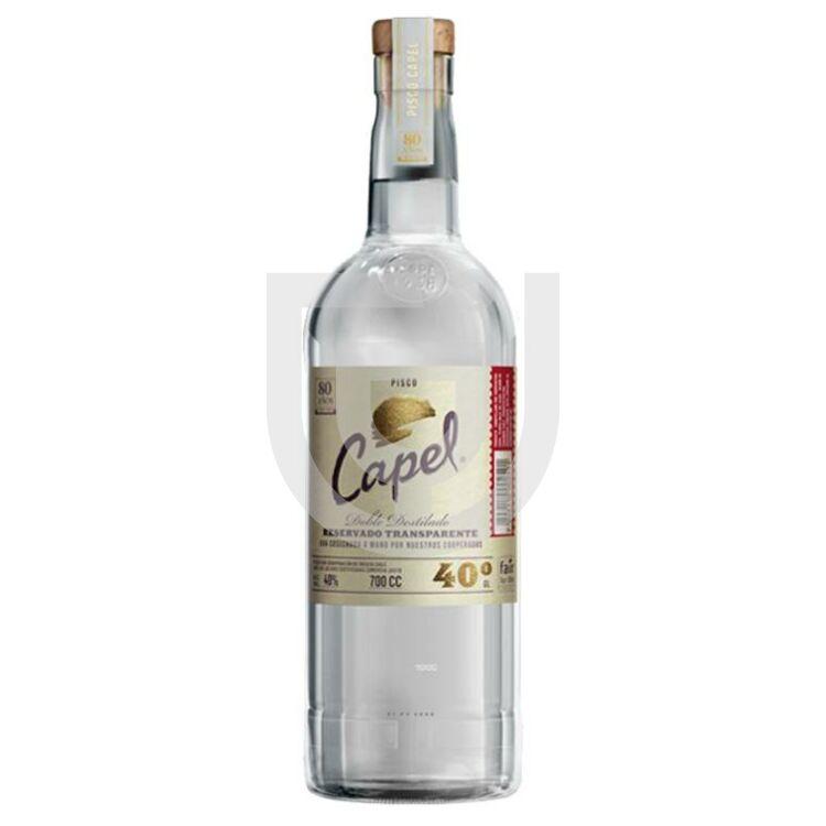 Pisco Capel Reservado Transparente [0,7L 40%]