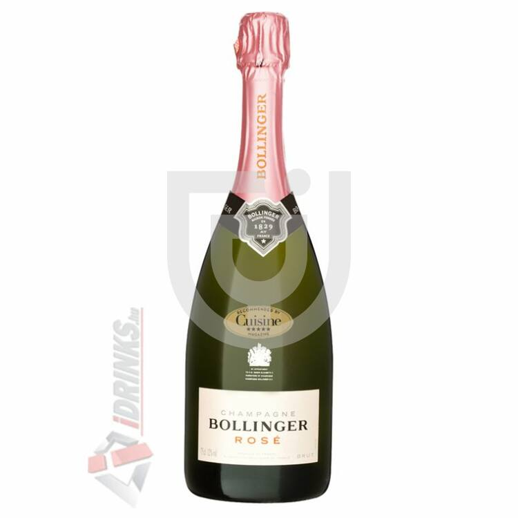 Bollinger Rosé Pezsgő [0,75L 12%]
