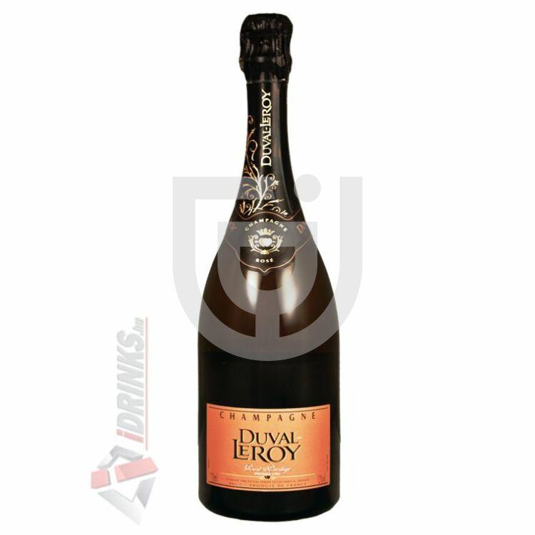 Duval-Leroy Rosé Brut Pezsgő [0,75L|12%]