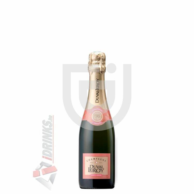 Duval-Leroy Lady Rose Pezsgő [0,375L 12%]