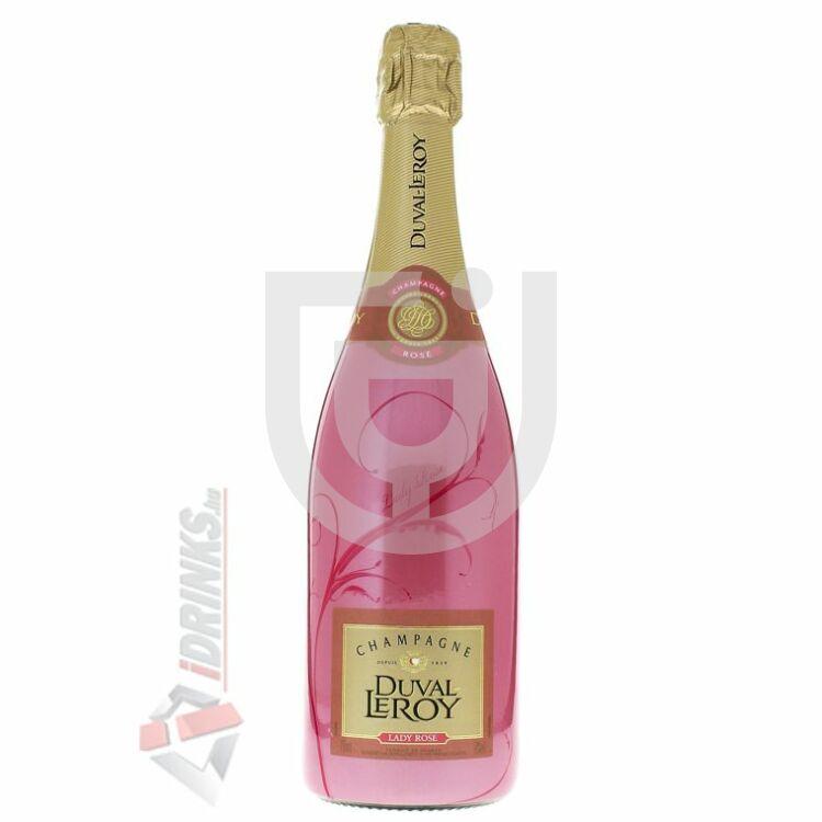 Duval-Leroy Lady Rose Pezsgő [0,75L|12%]