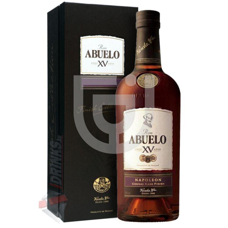 Abuelo XV Napoleon Cognac Cask Finish Rum [0,7L|40%]
