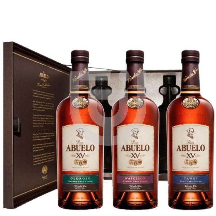 Abuelo XV Cask Finish Rum Set [3*0,2L|40%]