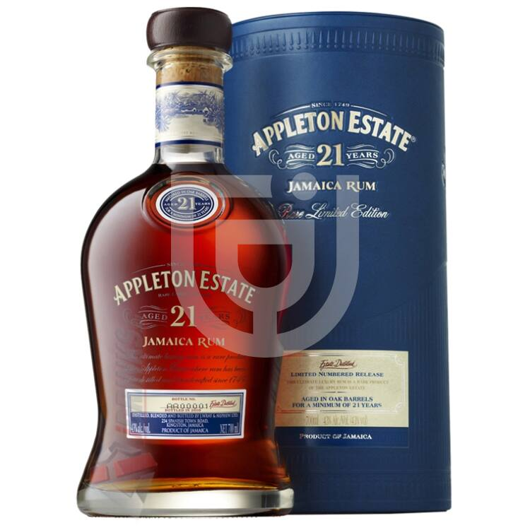 Appleton Estate 21 Years Rum [0,7L|43%]