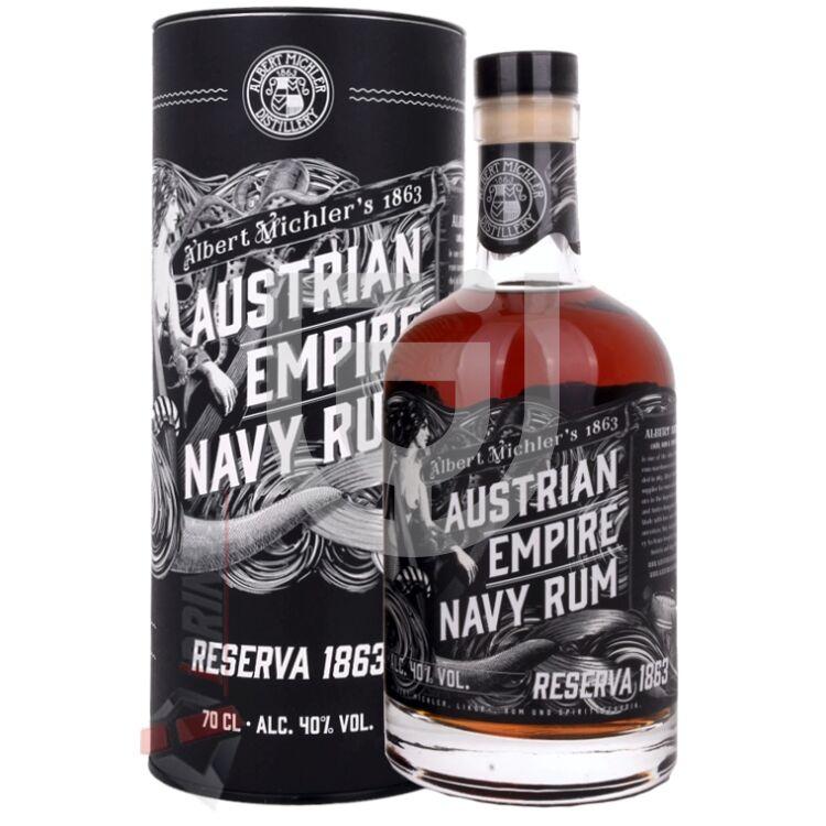 Austrian Empire Reserva 1863 Navy Rum [0,7L|40%]