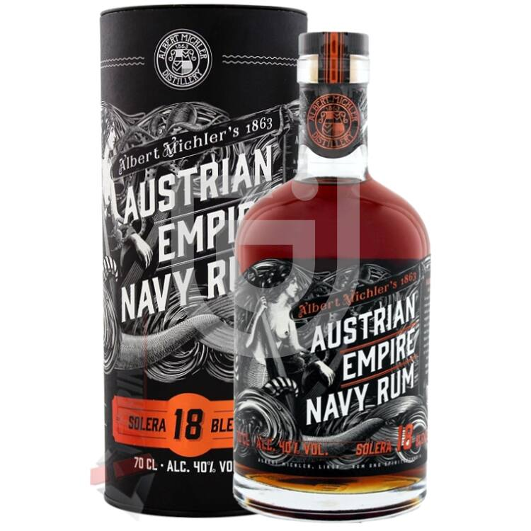 Austrian Empire Solera 18 Years Navy Rum [0,7L|40%]