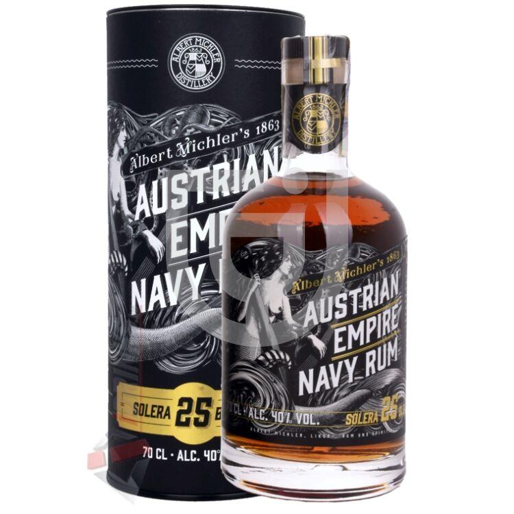 Austrian Empire Solera 25 Years Navy Rum [0,7L|40%]