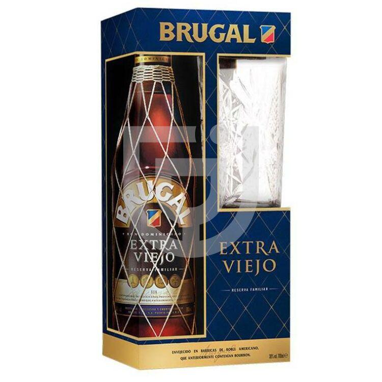 Brugal Extra Viejo Rum (DD+Pohár) [0,7L|38%]