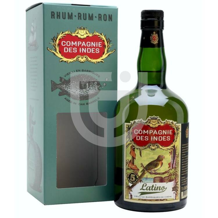 Compagnie des Indes Blend Latino 5 Years Rum [0,7L|40%]