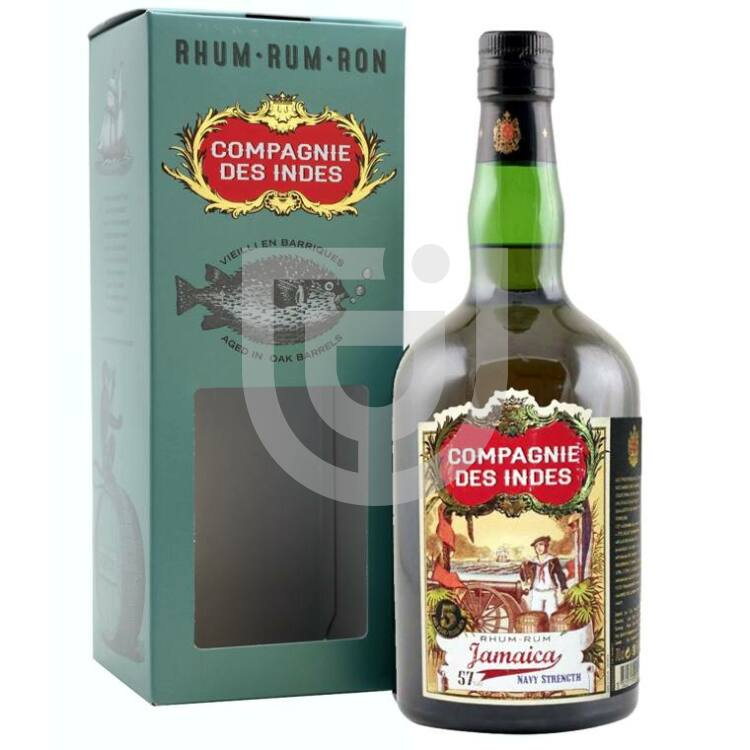 Compagnie des Indes Jamaica Navy Strength 5 Years Rum [0,7L|57%]