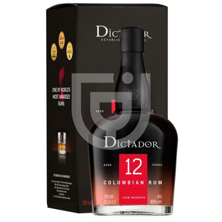 Dictador 12 Years Rum (DD) [0,7L|40%]
