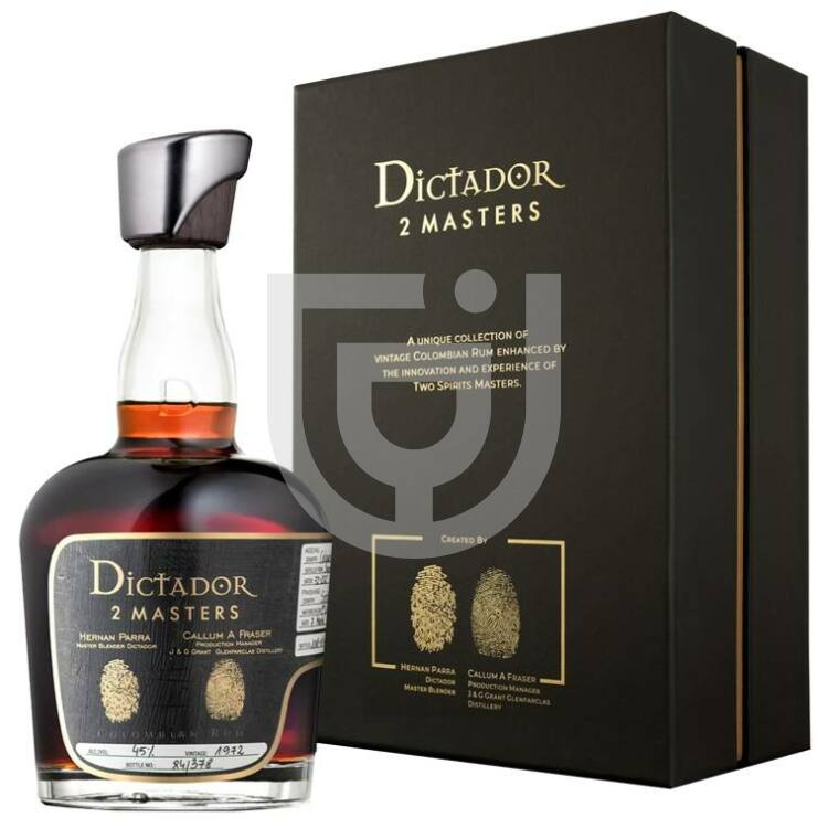 Dictador 2 Masters 1972 Glenfarclas Cask Rum [0,7L|45%]