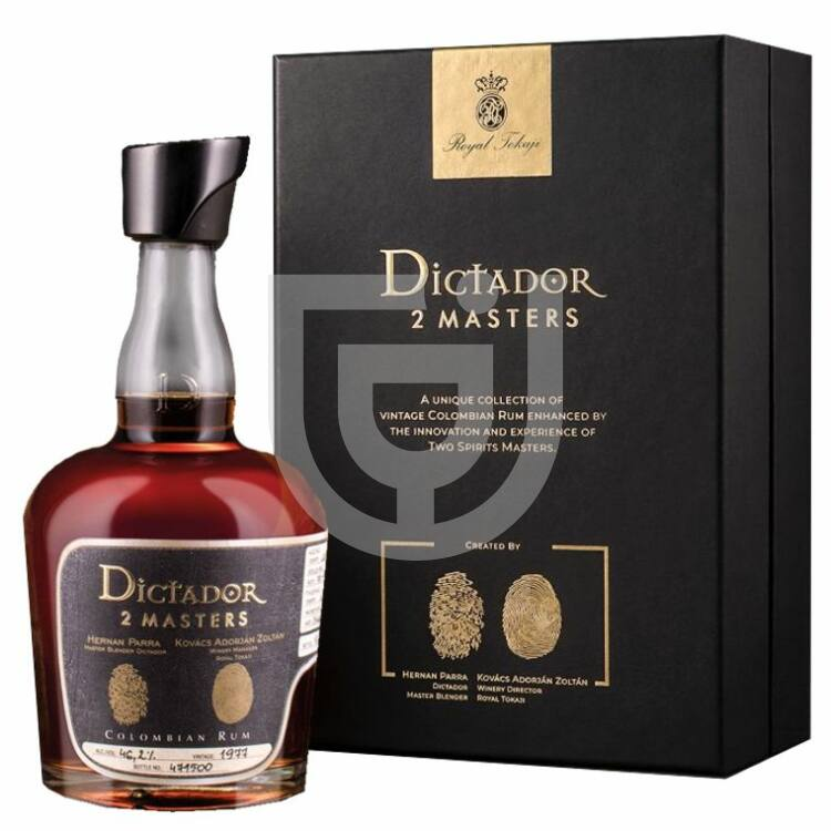 Dictador 2 Masters 1977 Royal Tokaj Cask Rum [0,7L|46,2%]