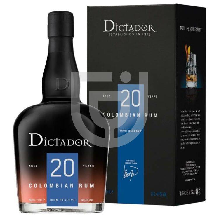 Dictador 20 Years Rum (DD) [0,7L|40%]