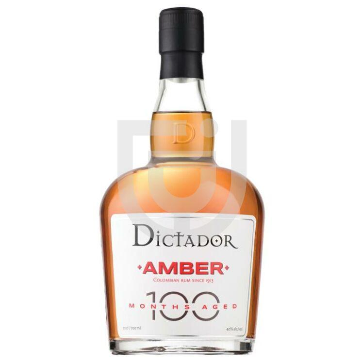 Dictador Amber 100 Months Rum [0,7L|40%]