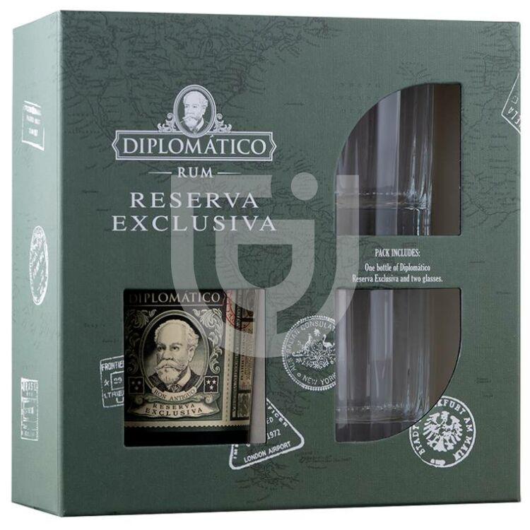 Diplomatico Reserva Exclusiva Rum (DD+2 Pohár) [0,7L|40%]