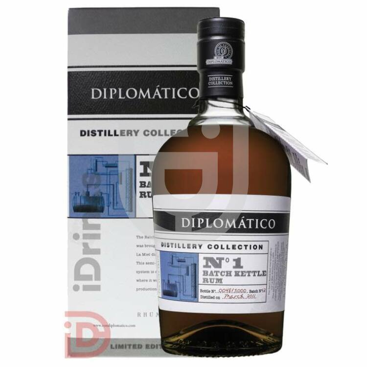 Diplomatico TDC Single Batch Kettle Rum [0,7L|47%]