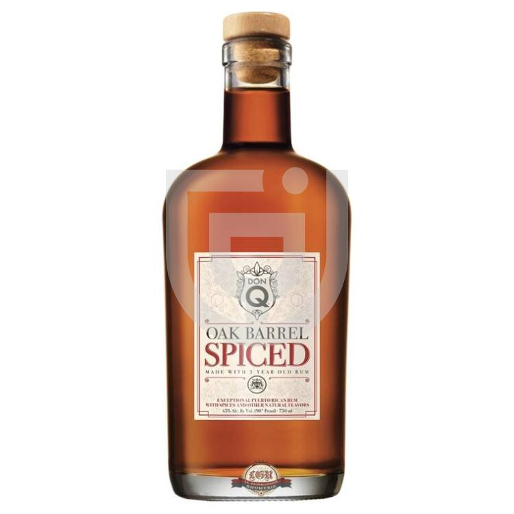 Don Q Oak Aged Spiced Rum [0,7L 45%]