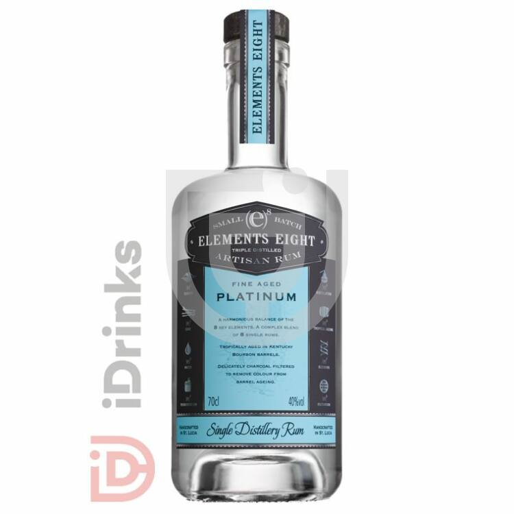 Elements Eight Platinum Rum [0,7L|40%]