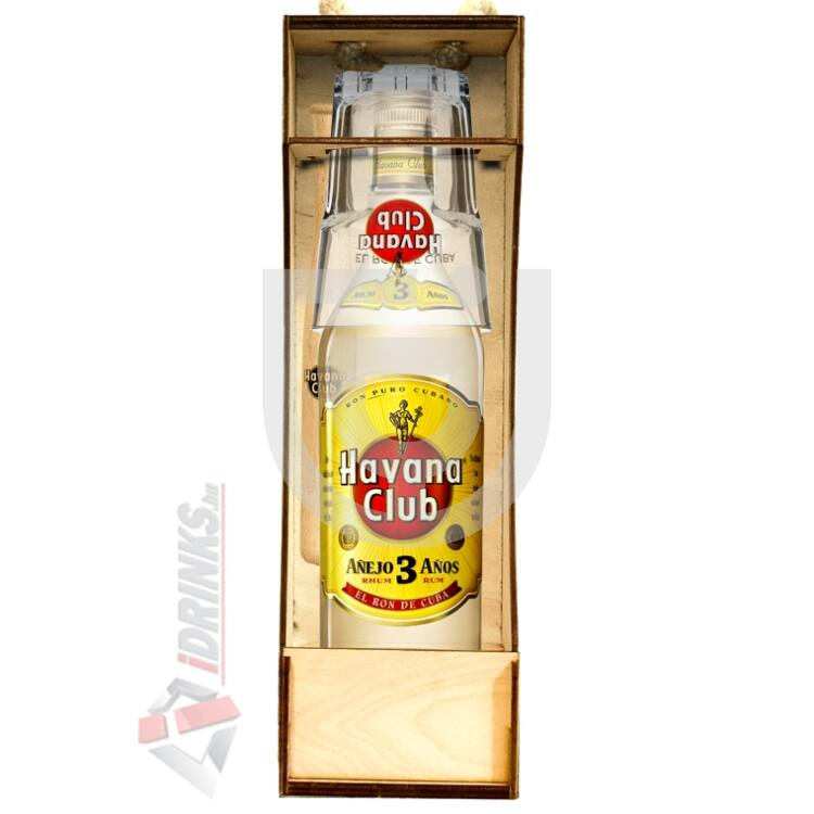 Havana Club 3 Years Rum Coctail Box [0,7L|40%]