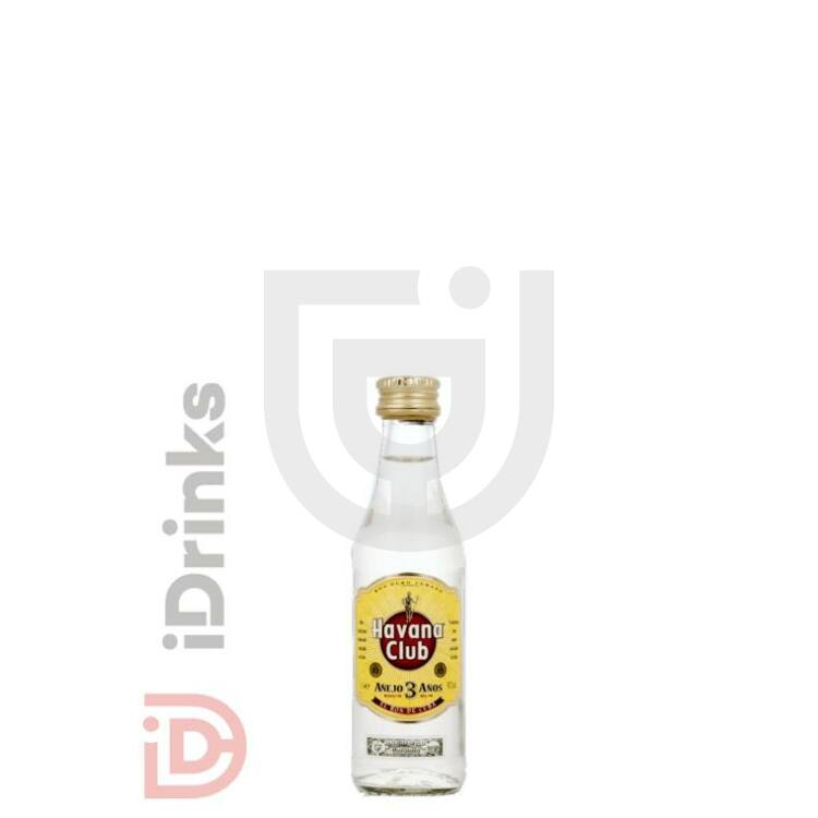 Havana Club 3 Years Rum Mini [0,05L|40%]
