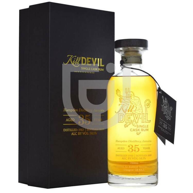 Kill Devil 35 Years Jamaica Hampden Pot Still Rum [0,7L 58,1%]