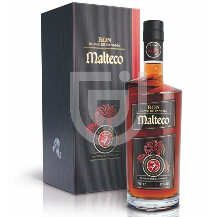Malteco 20 Years Reserva del Fundador Rum [0,7L|40%]
