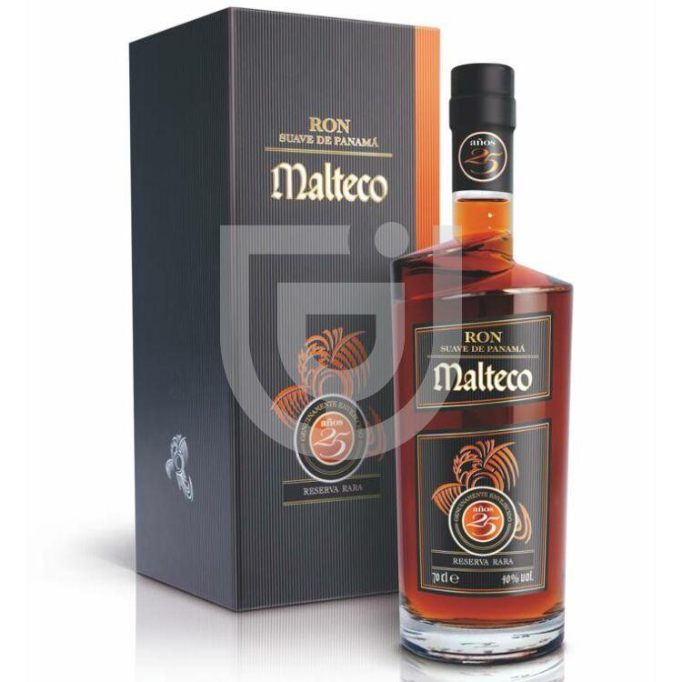 Malteco 25 Years Rum (ÜvegDD) [0,7L 40%]