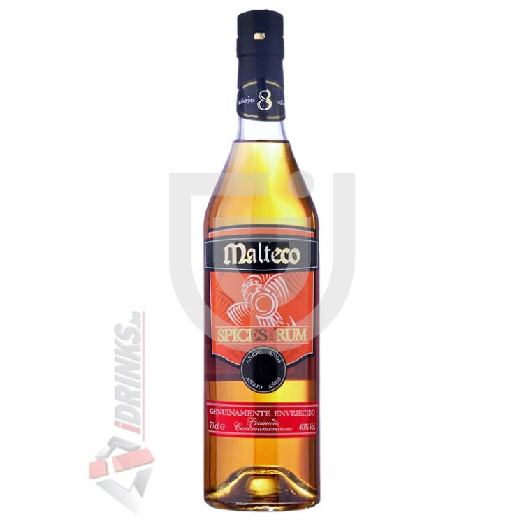 Malteco Spiced Rum 8 Years Rum [0,7L|40%]