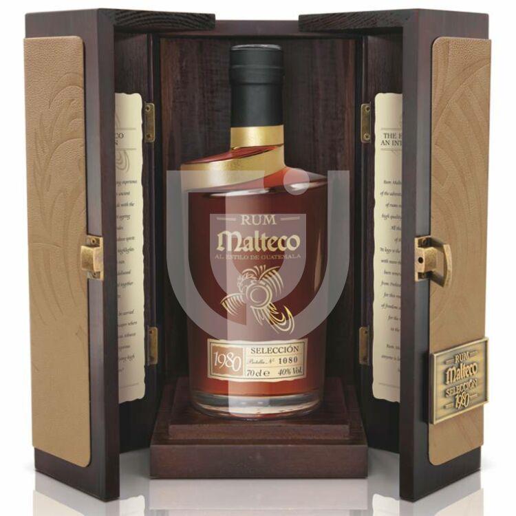 Malteco Seleccion 1980 Rum (FDD) [0,7L 40%]