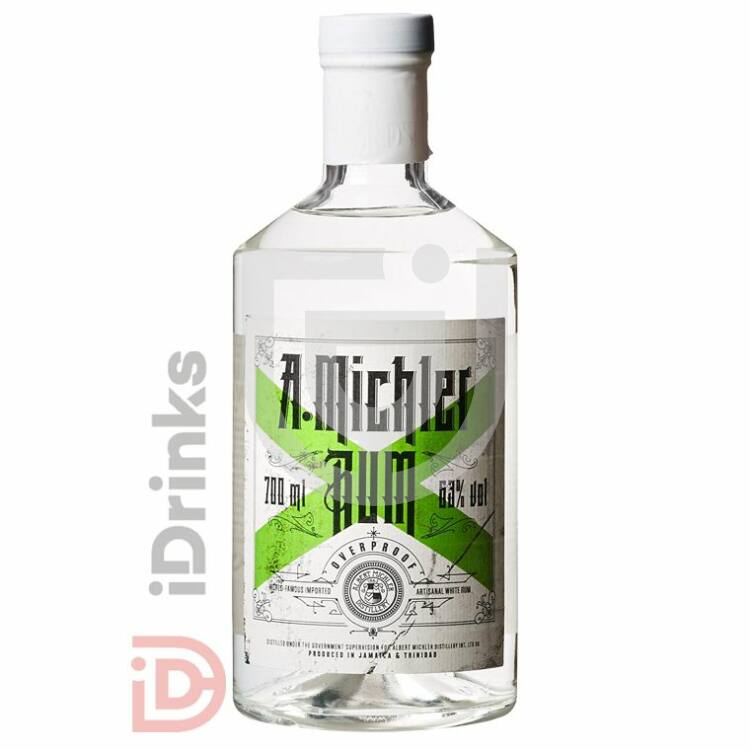 Michlers Overproof White Rum [0,7L|63%]