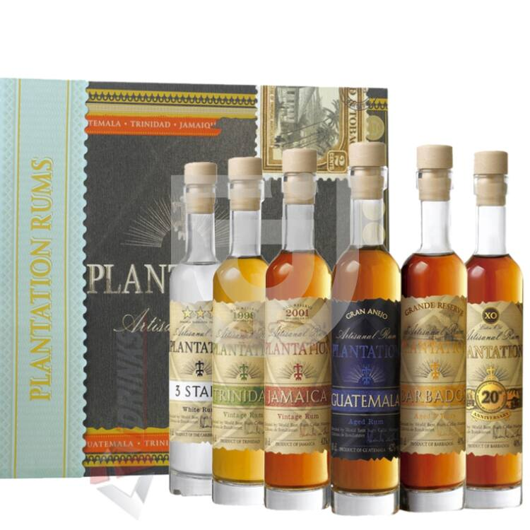 Plantation Rum Cigar Box [6*0,1L|41,2%]