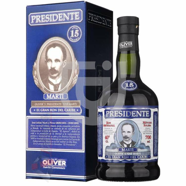 Presidente Marti 15 Years Rum [0,7L 40%]