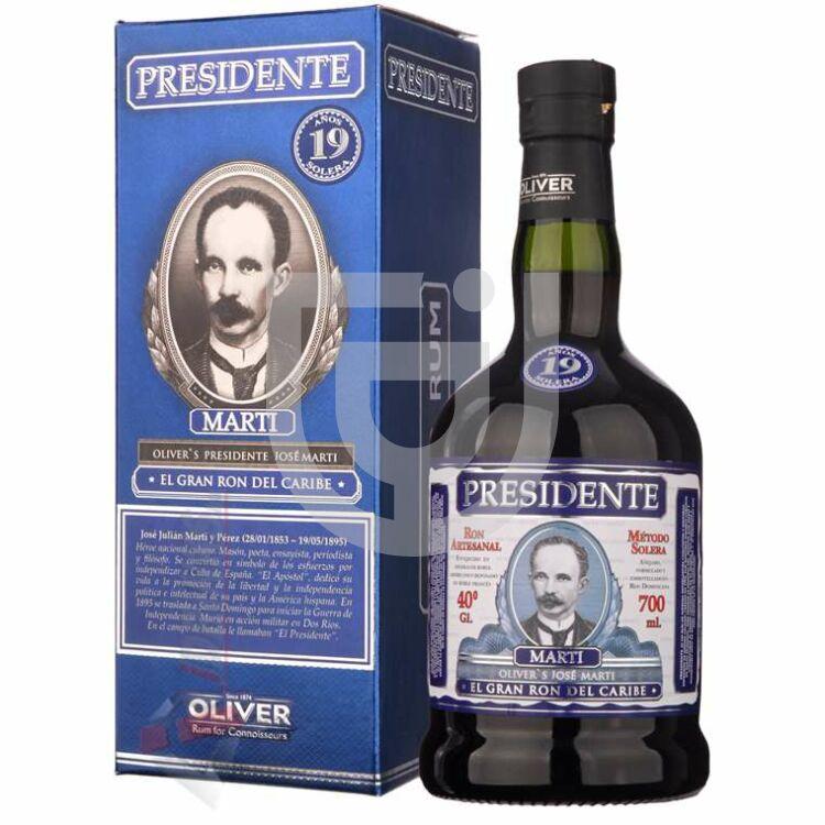 Presidente Marti 19 Years Rum [0,7L|40%]